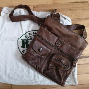 Roots Bags - Roots Village Crossbody Purse in Tribe Leather